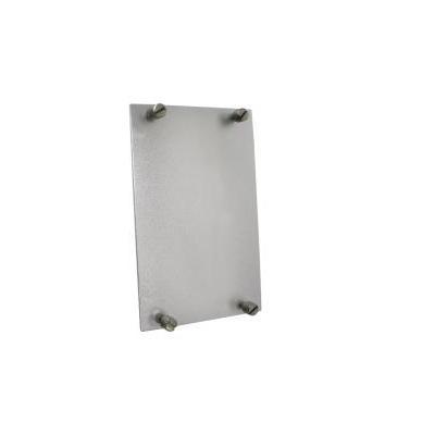 ComNet Blank Panel, 84x135mm, Grey Rack toebehoren - Grijs