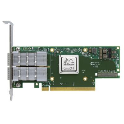 Mellanox Technologies MCX653105A-EFAT Netwerkkaart - Groen, Zilver