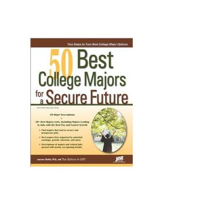 Jist publishing boek: 50 Best College Majors for a Secure Future - eBook (PDF)
