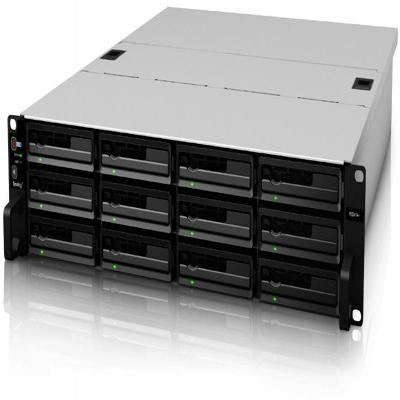 Synology NAS: RackStation RS2414RP+ - Zwart, Zilver