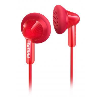 Philips koptelefoon: Hoofdtelefoon met oordopjes SHE3010RD/00 - Rood