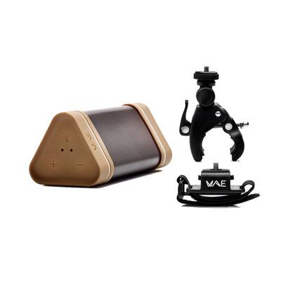 Hercules WAE Outdoor 04Plus pack Draagbare luidspreker - Bruin