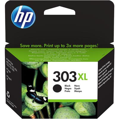 HP 303XL High Yield Black Original Ink Cartridge Inktcartridge - Zwart