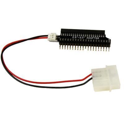 Startech.com electriciteitssnoer: 2,5 inch naar 3,5 inch IDE Harde Schijf Adapterkabel