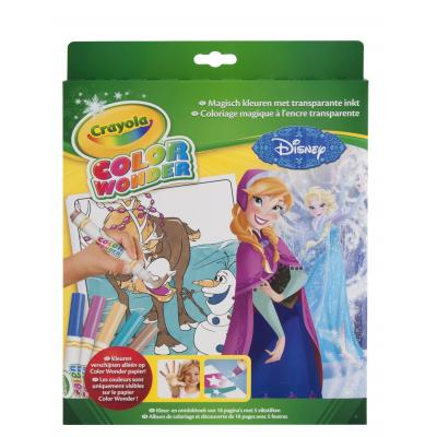 Crayola kleurplaat en boek: Color Wonder - Box set Frozen