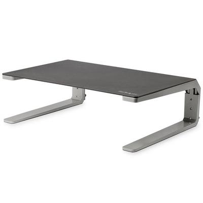 StarTech.com Monitor verhoger staal en aluminium hoogte verstelbaar - Zwart,Zilver