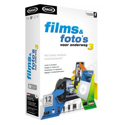 Magix videosoftware: Films & Foto's 3 MINI box