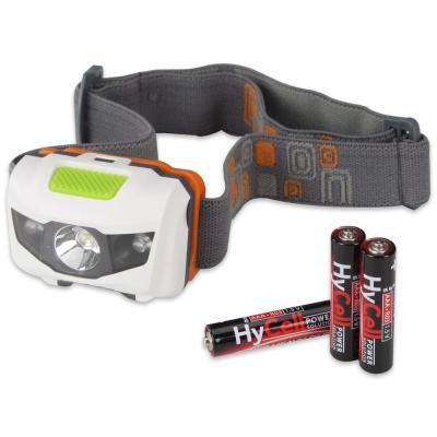Hycell zaklantaarn: 3x microAAA, LED, 1W, 80lm, 74g - Zwart