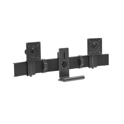 Ergotron TRACE Dual Conversion Kit (matte black) Monitorarm - Zwart