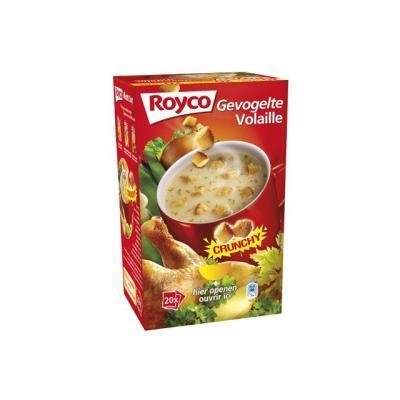 Royco voedingswaar: Minute soup Vel.gevogelte/ds 20 zk