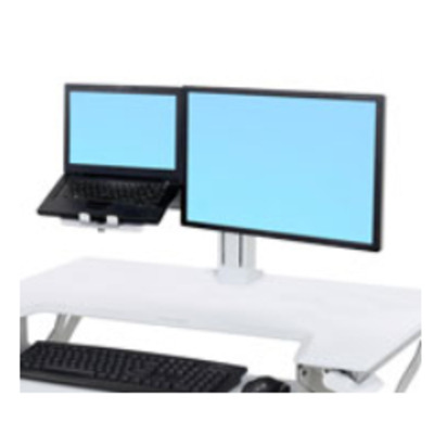 "Ergotron WorkFit LCD & Laptop Kit, ≤ 24"", 5.4–11.8 kg, VESA Multimedia accessoire - Wit"