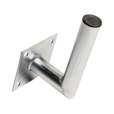 König : Gegalvaniseerde stalen muurbeugel L-vorm 150/48 mm - Zilver
