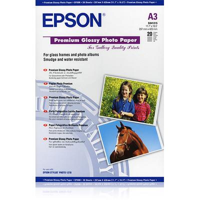 Epson Premium, DIN A3, 255g/m² Fotopapier - Wit