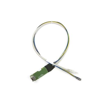Supermicro CAT5e, 24 AWG, 0.5 m Netwerkkabel - Wit