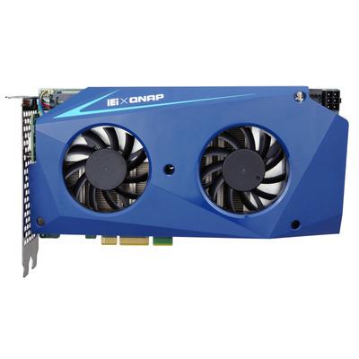 QNAP MUSTANG 200-I7-1T/32G-R10 2 X PCIE GEN3 X4 M.2 32GB DDR4 Videokaart