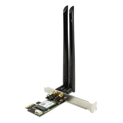 LogiLink PCI-Express Card, Wi-Fi 6 & BT 5.0 Netwerkkaart