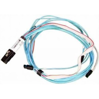 Supermicro iPass / SATA Kabel - Zwart, Blauw