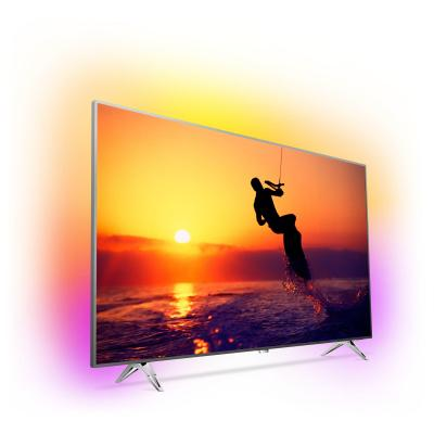 Philips led-tv: 8100 series Ultraslanke 4K-TV powered by Android TV 65PUS8102/12 - Wit