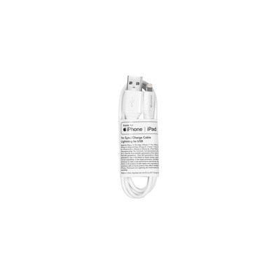 ESTUFF Lightning Cable MFI 1m White - Wit