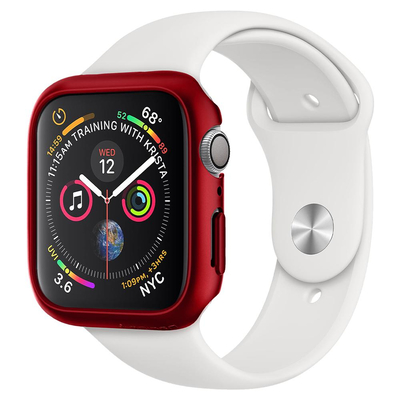 Spigen Apple Watch Series 5 / 4 (44mm) Case Thin Fit - Rood