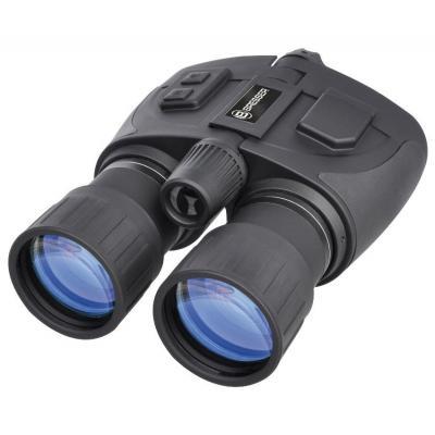 Bresser optics verrrekijker: NightSpy Bino 5x50 - Zwart, Zilver