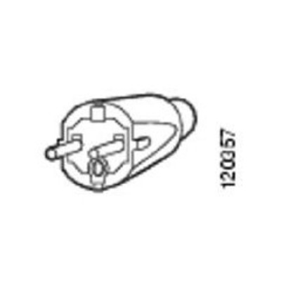 Cisco AC Power Cord (Europe), 16 A, 250 VAC, 4 m Electriciteitssnoer