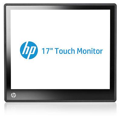 Hp touchscreen monitor: L6017tm - Zwart