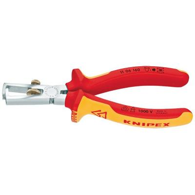 Knipex stripping gereedschap: Insulation Stripper - Oranje, Rood