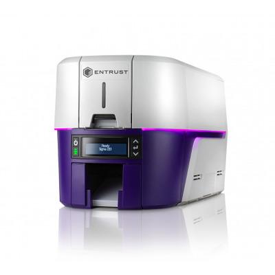 DataCard DS1 Plastic kaart printer - Grijs,Violet