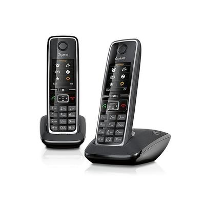 Gigaset dect telefoon: C530 Duo - Zwart, Zilver