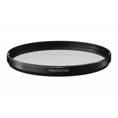 Sigma camera filter: 62mm WR Protector - Zwart