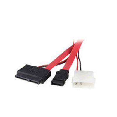 Microconnect MicroSata - SATA/Power - Rood