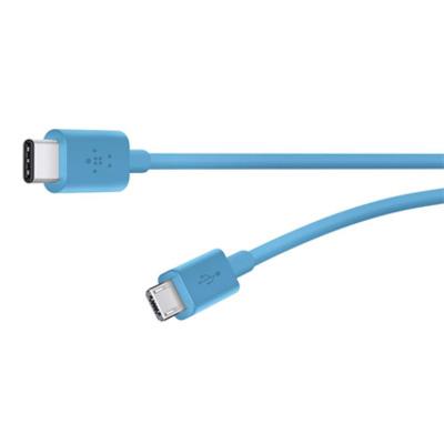 Belkin Mixit USB-C/Micro USB, 1.8m USB kabel - Blauw