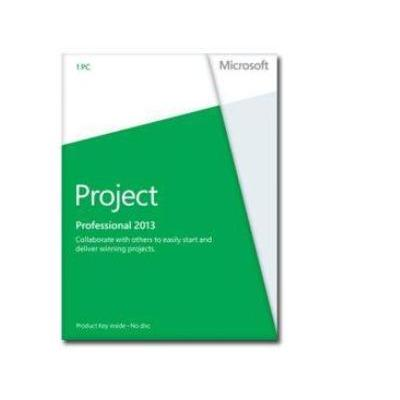 Microsoft project management software: Project 2013 Professional, x32/64, 1u, ENG