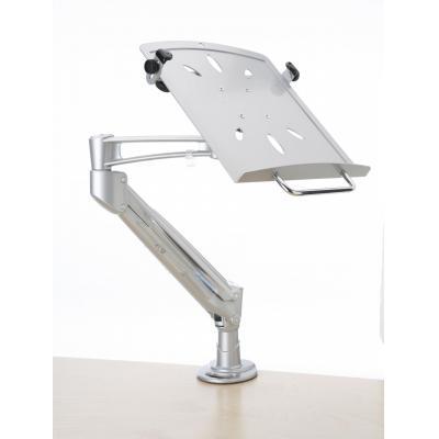 Kondator notebooksteun: Phoenix LapTop Arm, Gas Spring Silver - Zilver