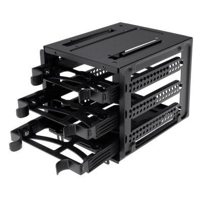 Corsair Computerkast onderdeel: Obsidian Series 550D drive cage with 3 drive trays - Zwart