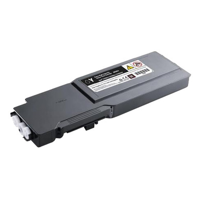 Dell toner: Geel tonercartridge extra met hoge capaciteit voor de laserprinter C3760n/ C3760dn/ C3765dnf (9000 pagina's)