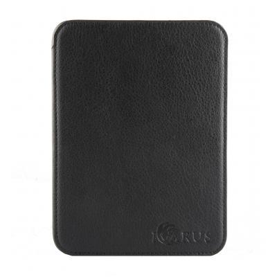 Icarus e-book reader case: PerfectFit beschermhoes voor Illumina E654 serie - Midnight Black - Zwart