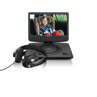 Lenco portable DVD player: DVP-1035 - Zwart