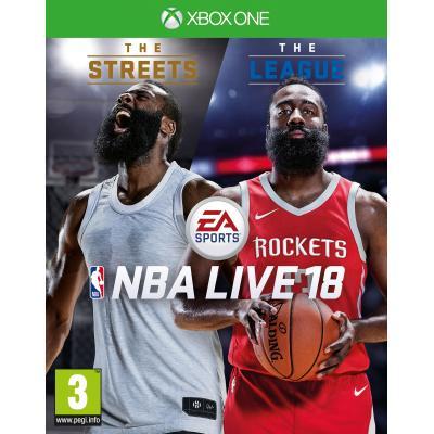 Electronic arts game: NBA Live 18  Xbox One
