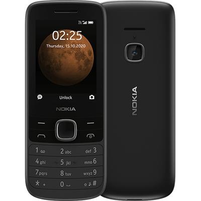Nokia 225 4G - Alphanumeric keypad Mobiele telefoon - Zwart