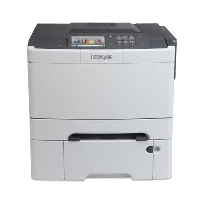 Lexmark laserprinter: CS510dte - Zwart, Cyaan, Magenta, Geel
