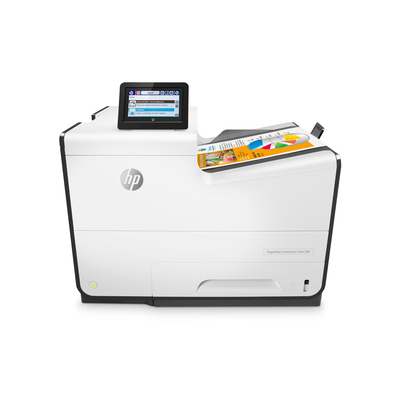 HP PageWide Enterprise Color 556dn Inkjet printer - Zwart, Cyaan, Magenta, Geel