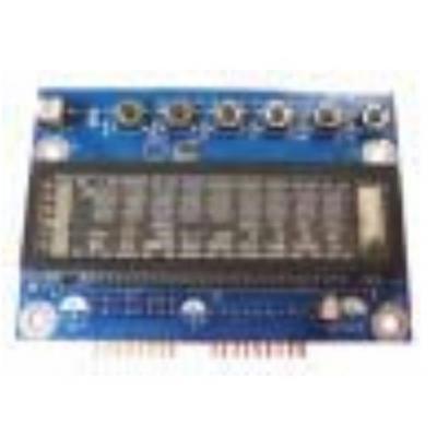 Acer Sub-Display Board Computerkast onderdeel - Zwart, Blauw