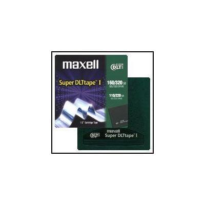 Maxell datatape: Data Cart 110-220GB Super DLT - Groen