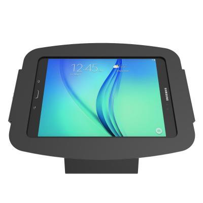 Maclocks For Samsung Galaxy Tab E 9.6, Aluminum construction, Black - Zwart