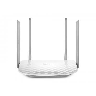 Tp-link wireless router: 802.11ac, 2.4/5 GHz, 4x LAN, 1x WAN, WMM, QoS, 230 x 144 x 37 mm - Wit