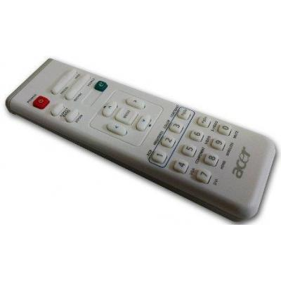 Acer afstandsbediening: Remote Control with laser for PD112 - Grijs, Wit