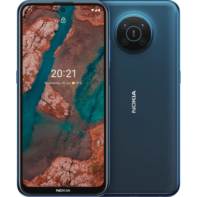 Nokia X20 8GB 128GB Blue Smartphone - Blauw
