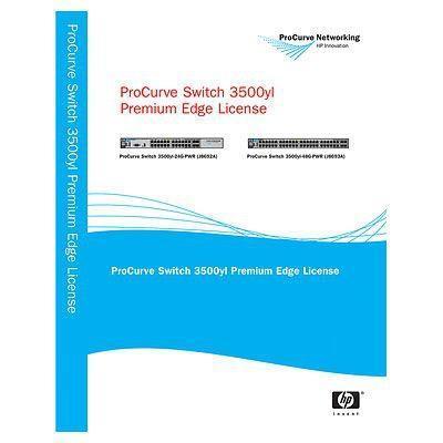 Hewlett packard enterprise software: 3500 yl Premium License